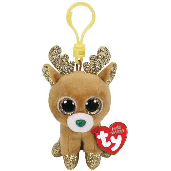 Glitzy - Boo Christmas Reindeer Clip