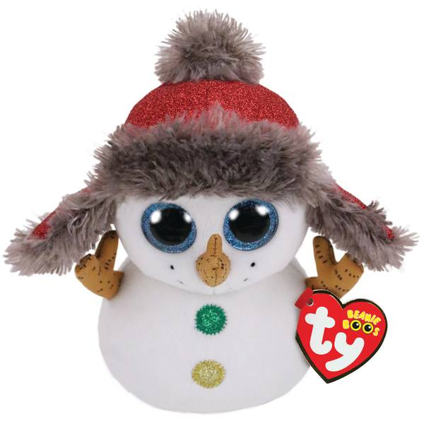Buttons - Boo Christmas Snowman
