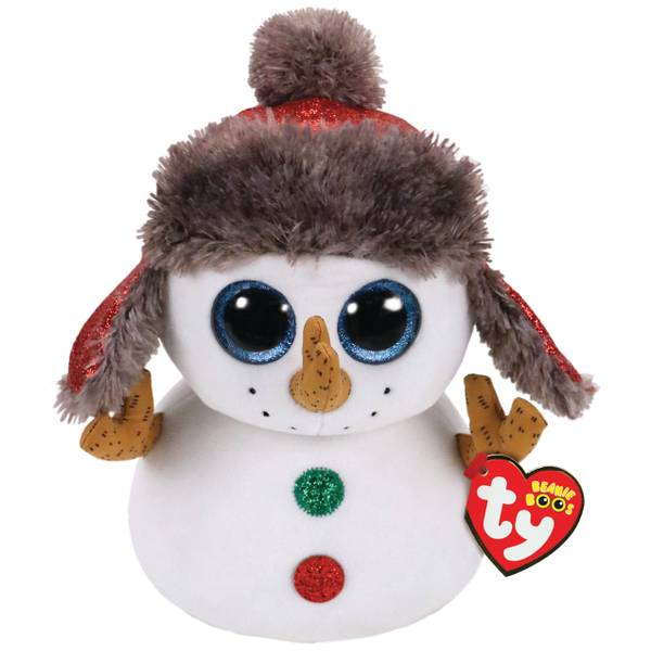 Buttons - Boo Christmas Snowman MD