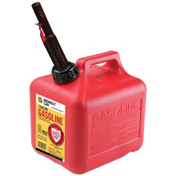 2 Gal Gas Can Auto Shut Off
