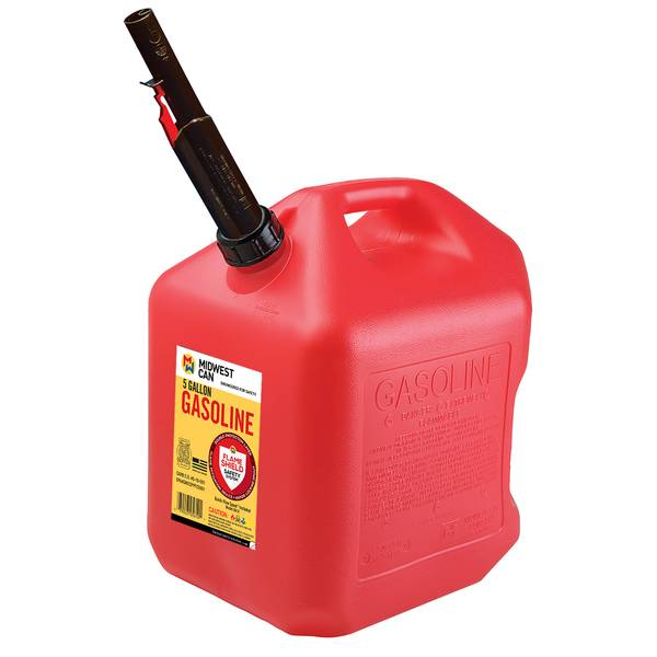 5 Gal Gas Can Auto Shut Off