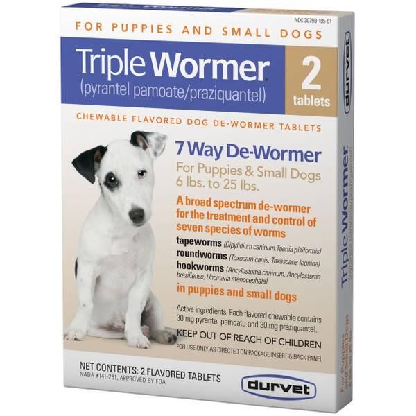 Triple Wormer 2-Pack Tab