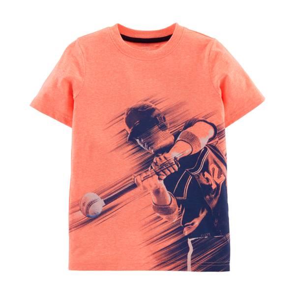 10dac9630d6 Carter s Boy s Short Sleeve Baseball Tee