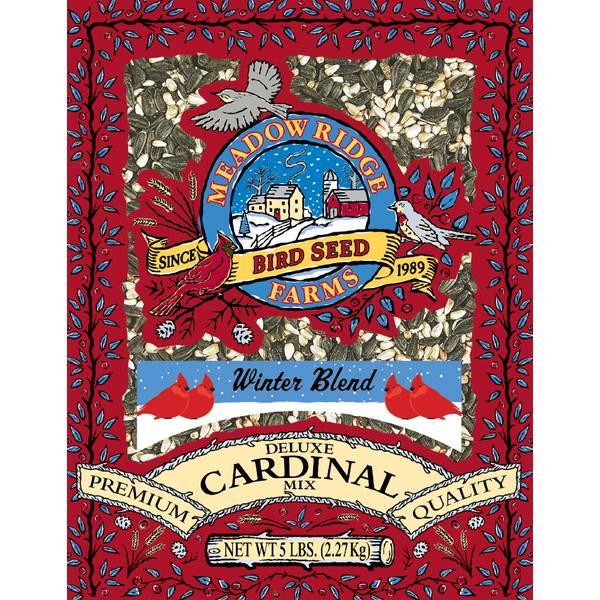 5lb Winter Blend Deluxe Cardinal Bird Food