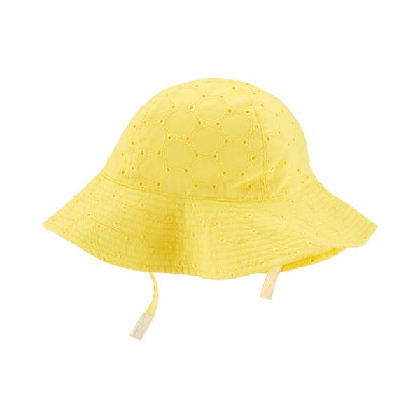 059a0102602d1 Carter s Baby Girl s Yellow Hat