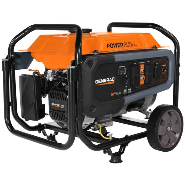 GP3600 Watt Portable Generator