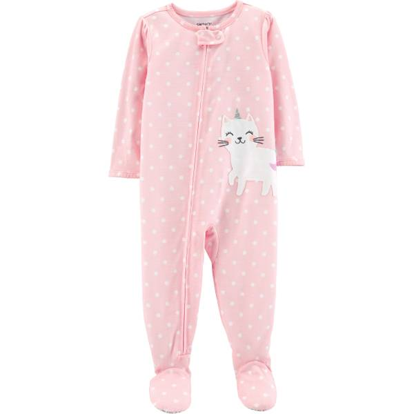 f2c24612f Carter's Girls Cat Footed PJs