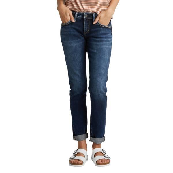 9bbf8e85 Silver Jeans Women's Sam Boyfriend Crop Jeans