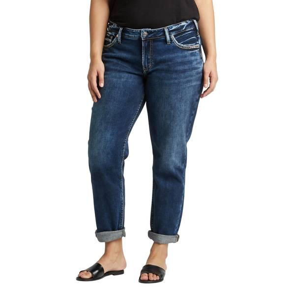 1dcc02bf Silver Jeans Women's SAM Boyfriend Crop Jeans