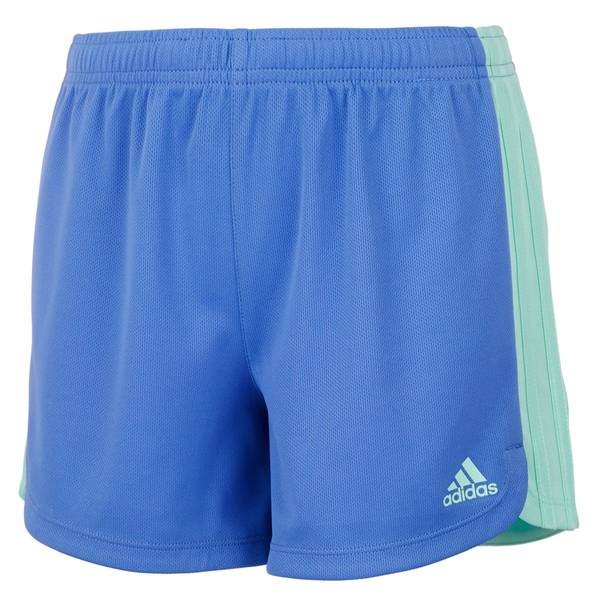 5261bc9b5e49 Adidas Toddler Girl s 3 Stripe Blocked Shorts