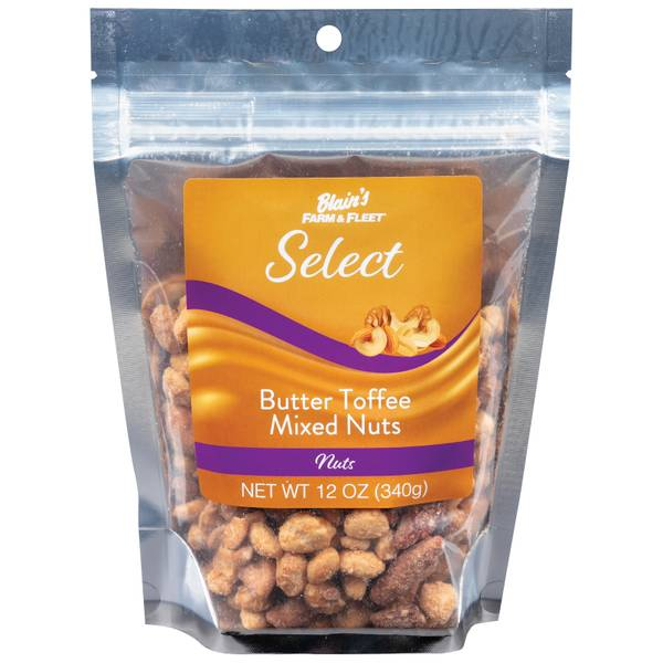 Select Butter Toffee Mixed Nut 12 oz