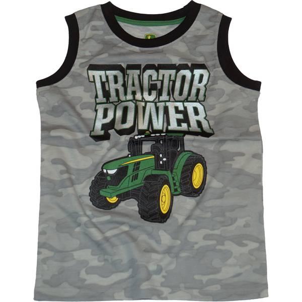 79d87d01 John Deere Boy's Tractor Power Muscle Tee