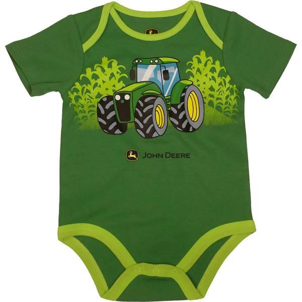09632e6ea20 John Deere Infant Boy s Tractor Field Bodyshirt