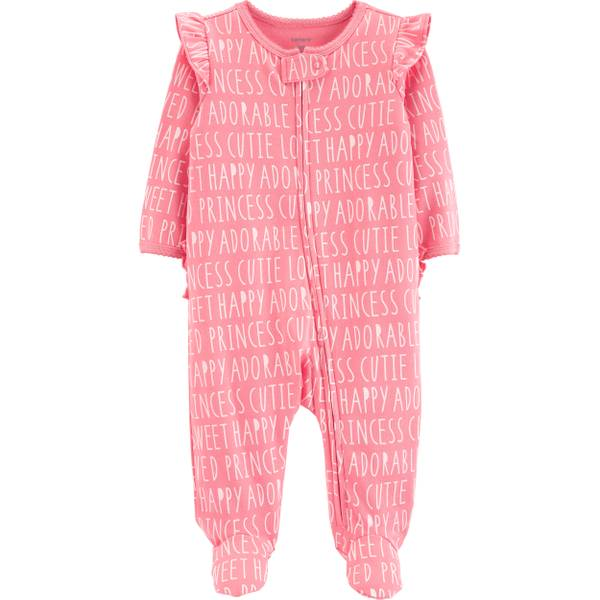57b3335831a7f Infant Girl's Words One Piece
