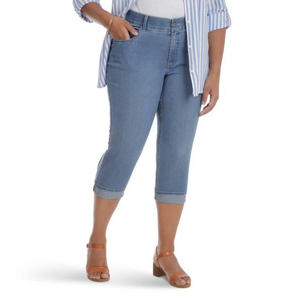 Women\'s Plus Size Comfort Waist Mid 19\