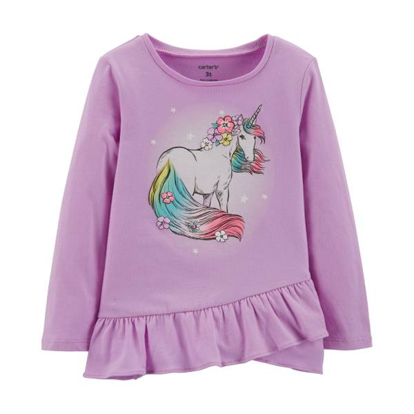 d46d3de58 Carter's Toddler Girl's Unicorn Tee