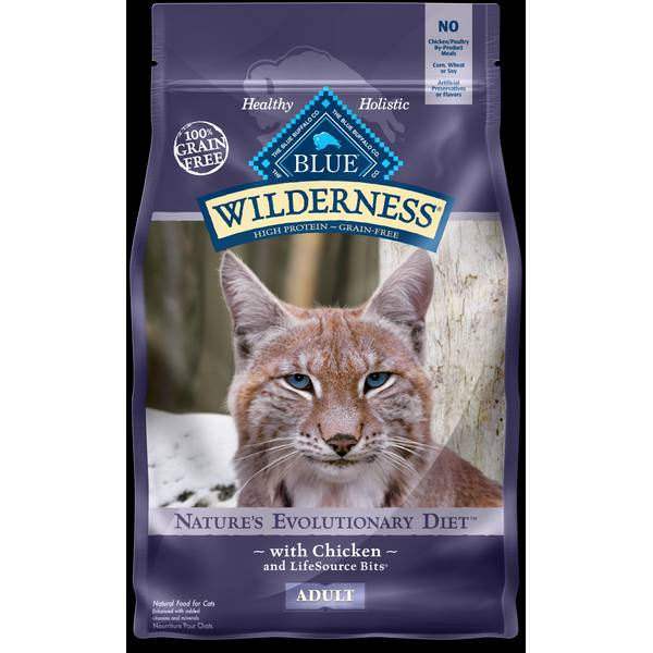 Nature's Evolutionary Diet with Chicken Cat Food