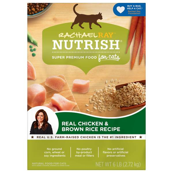 Nutrish Chicken and Brown Rice Cat Food