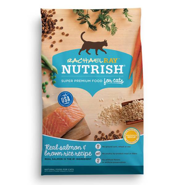 Nutrish Salmon and Brown Rice Cat Food