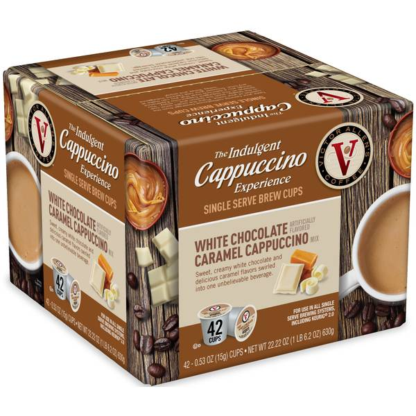 42 Count White Chocolate Caramel Cappuccino