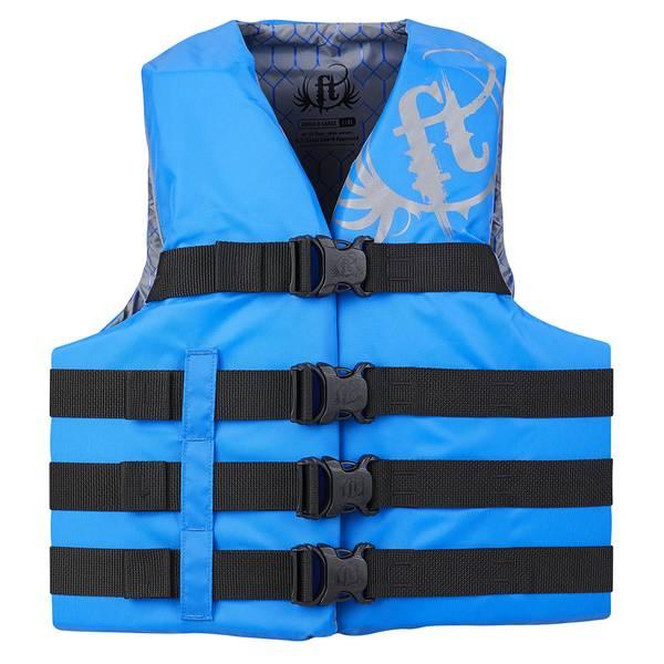 Adult Nylon Blue Life Vest