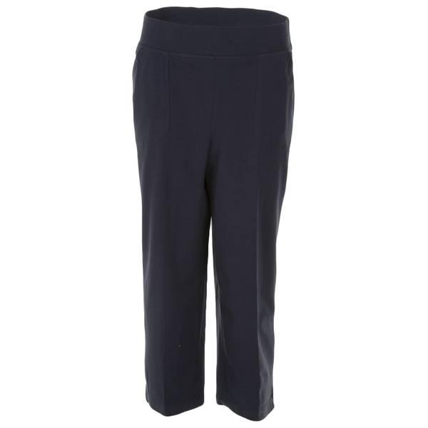 2391dd7a1df Cathy Daniels Women s Plus Size Pull-On Capri Pants