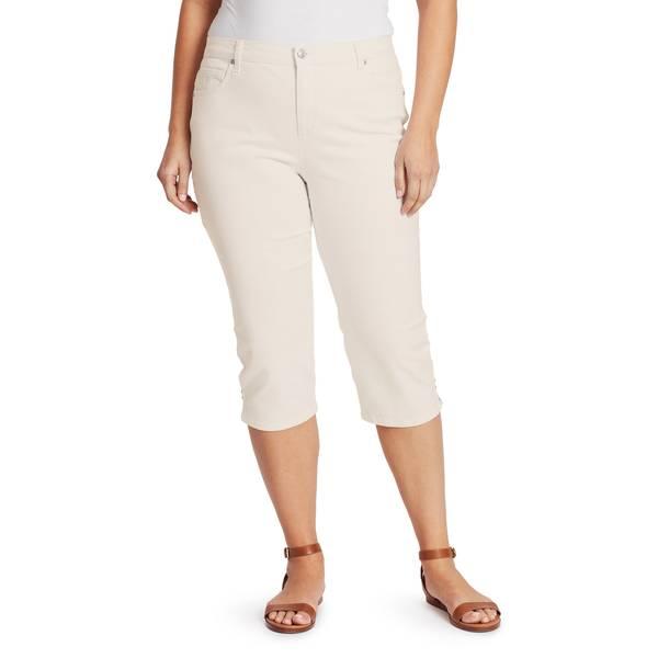 326753347fd Gloria Vanderbilt Women s Plus Size Amanda Capri Pants