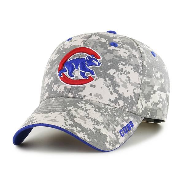 47 Men's Chicago Cubs Digital Camo Frost Cap