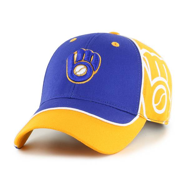 75050cfb36c0f9 47 Men's Milwaukee Brewers Exaggerate Cap