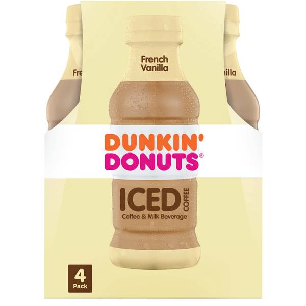 Photo of 9.4 oz French Vanilla Iced Coffee 4-Pack
