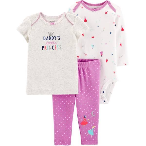 18eefa9917da7 Infant Girl's Princess 3 Piece Set