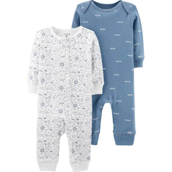 Photo of Infant Boy's 2-Pack Coveralls