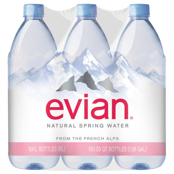 Photo of 1 Liter Natural Spring Water 6-Pack