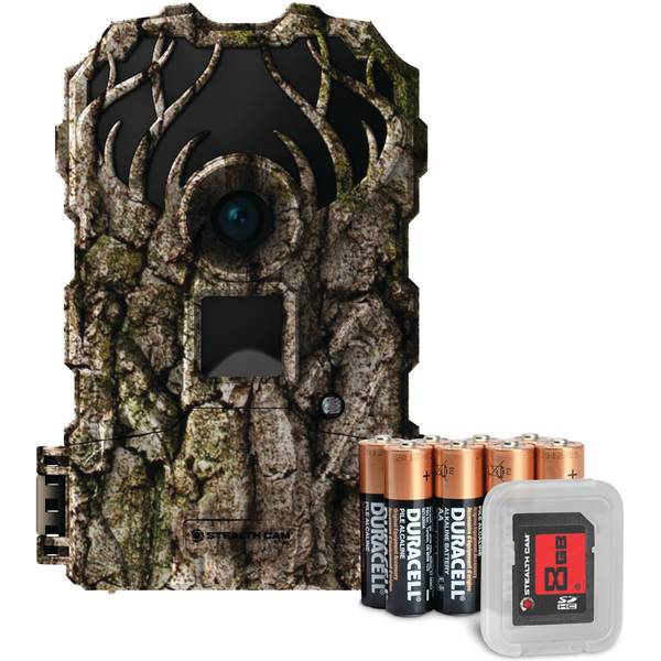 Walkers 14 MP Drop Tine Trail Camera Combo