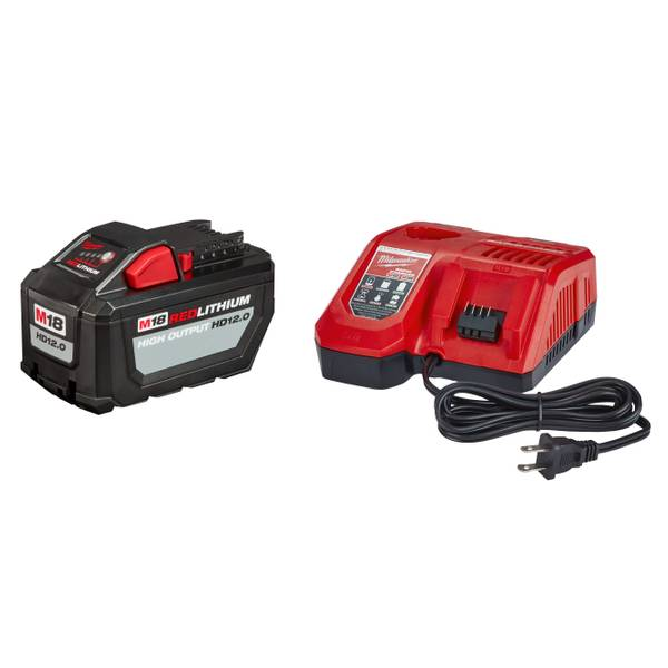 48-59-1200 M18 12 0 Starter Kit with Rapid Charger