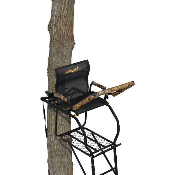 Muddy 17′ Huntsman Deluxe Ladder Stand