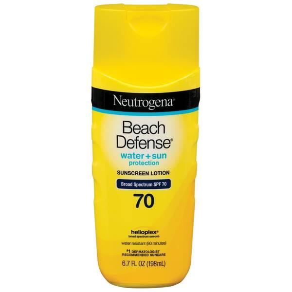 6 7 oz Beach Defense Sunscreen Lotion SPF 70