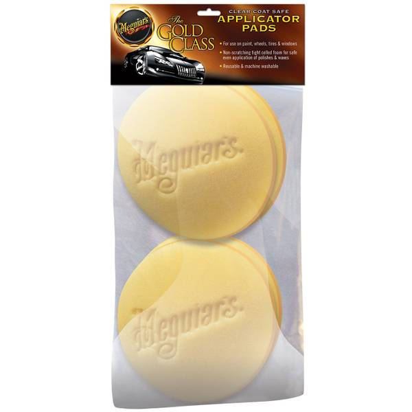 Meguair/'s W-0004 High Tech Foam Applicator Pads