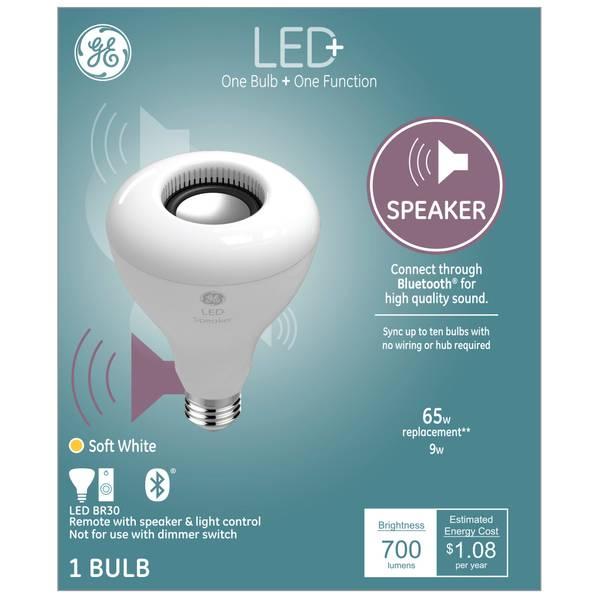 Ge Led Speaker Soft White 65 Watt Replacement Br30 Light Bulb 93100354 Blain S Farm Fleet