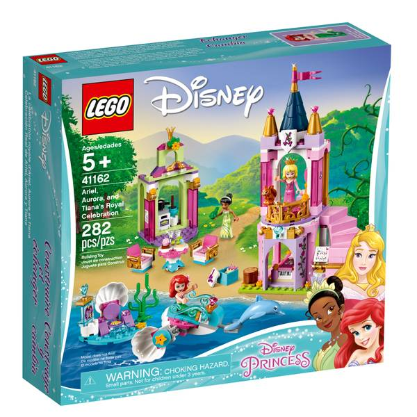 Lego 41162 Disney Princess Ariel Aurora Tiana Celebration