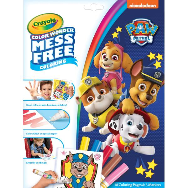 - Crayola Color Wonder Paw Patrol Coloring Book - 75-7007 Blain's Farm &  Fleet