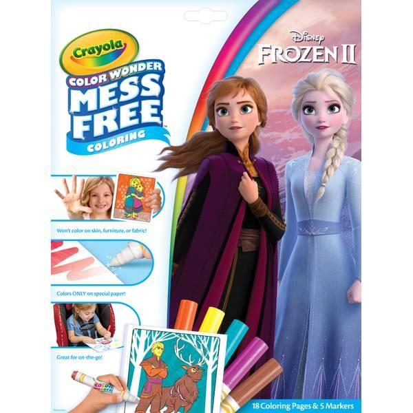 - Crayola Color Wonder Frozen 2 Coloring Book - 75-7002 Blain's Farm & Fleet