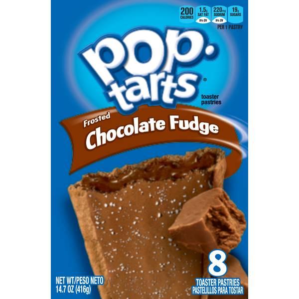 8 Count Chocolate Fudge Pop Tarts
