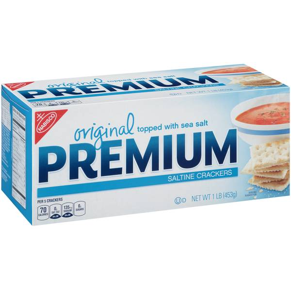 Photo of 1 lb Premium Saltine Crackers