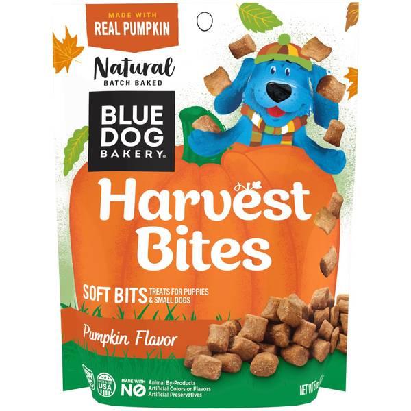 Blue Dog Bakery Harvest Bites Pumpkin Made with Real Pumpkin