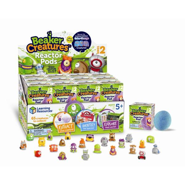 Beaker Creatures Reactor Pods Series 2 24 Pack Stem Certified Science Toy A 24Pk