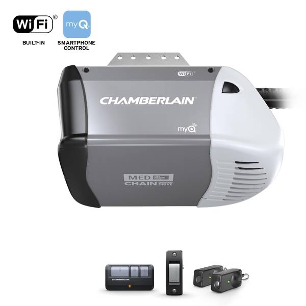 Chamberlain Chain Drive Wi Fi Garage Door Opener Blain S