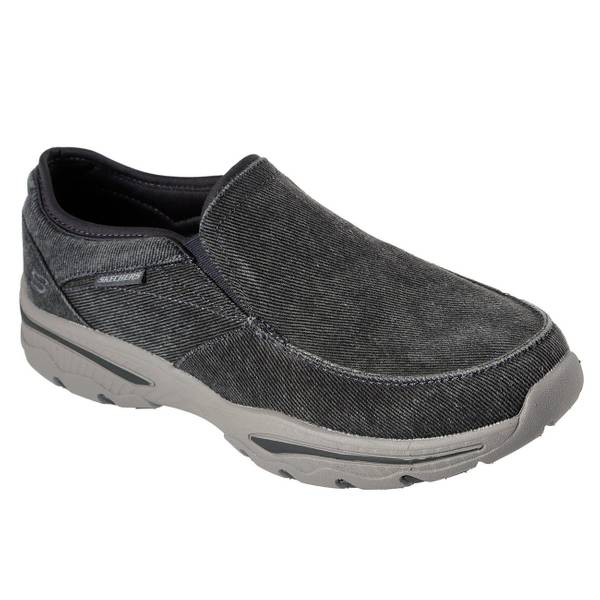 mens skechers casual slip on shoes off