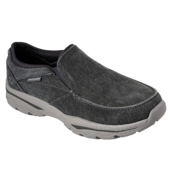 skechers slip on sneakers mens