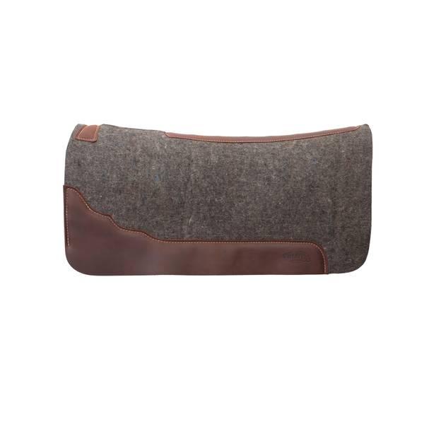 Brown-New Tough 1 Premium Bareback Pad